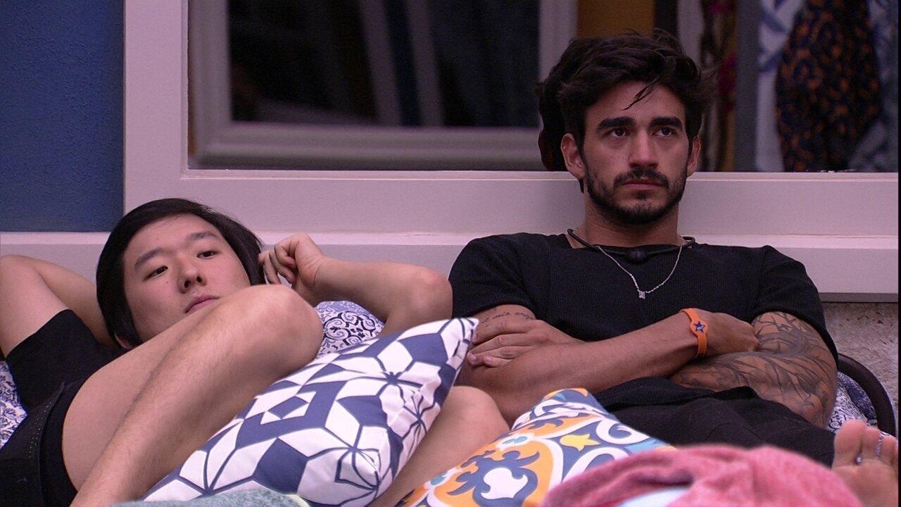 Guilherme explica escolha por Bianca e Gabi no Jogo da Discórdia: 'Fiz de propósito'