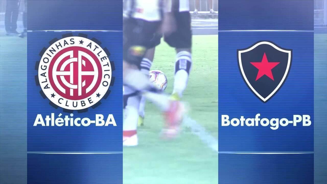 Atlético-BA x Botafogo-PB vai ser transmitido ao vivo pelo GloboEsporte.com