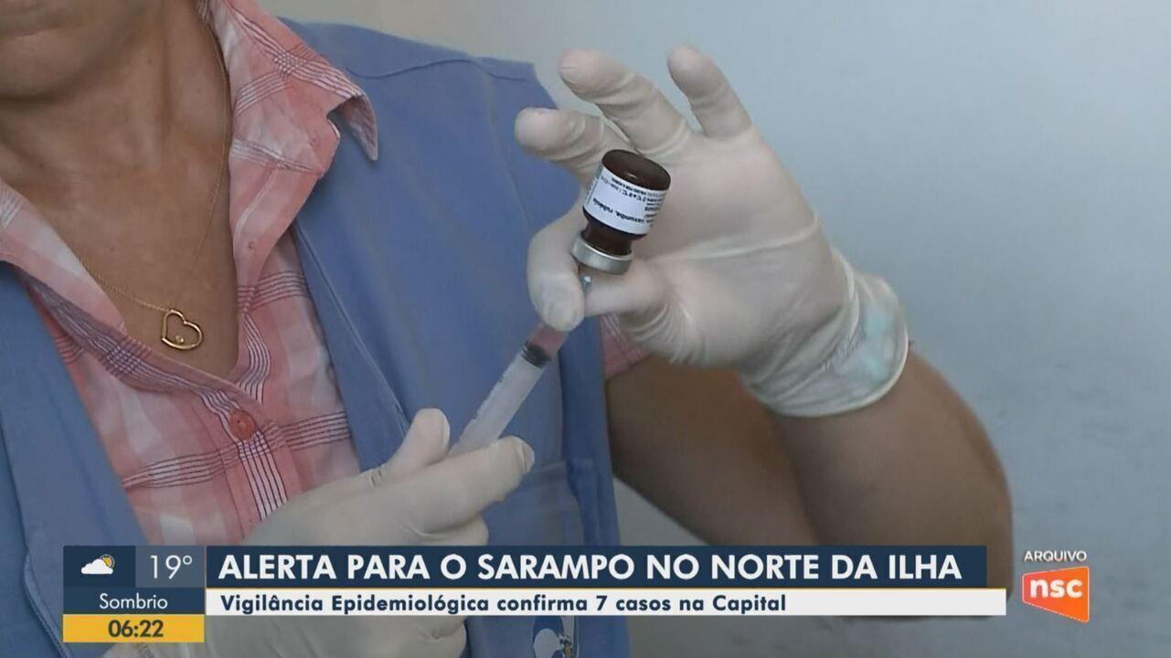 Florianópolis tem 11 casos de sarampo confirmados em 2020