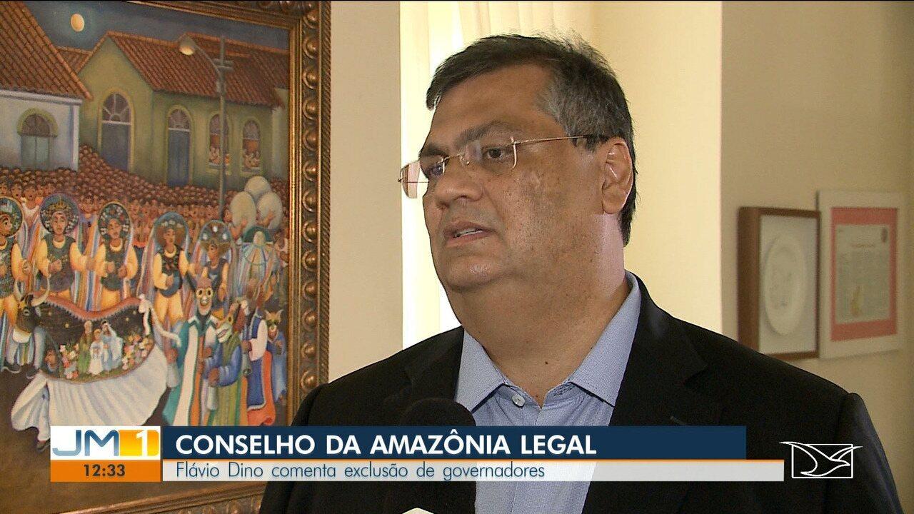 Flávio Dino comenta a alteração feita no Conselho da Amazônia Legal pelo governo federal
