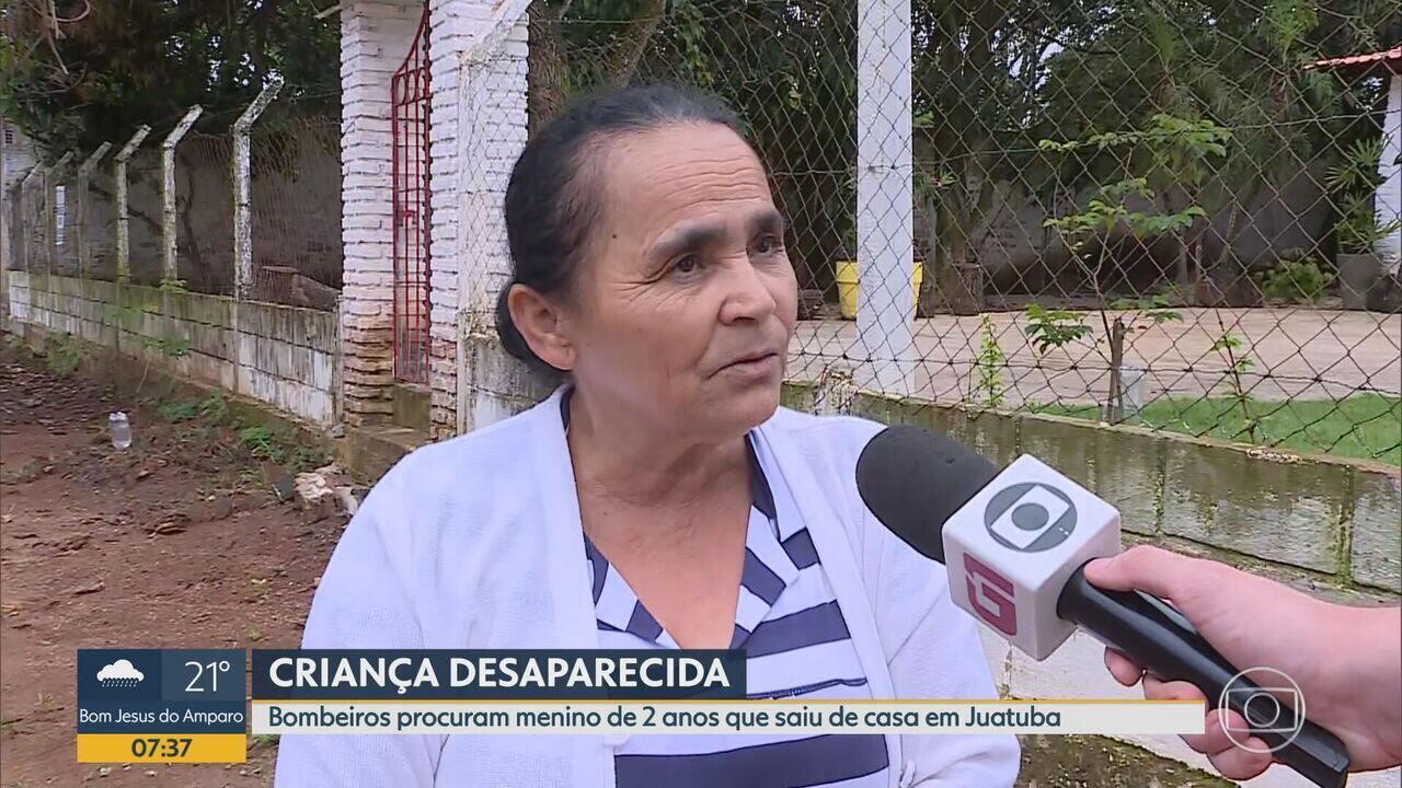 'Esperto demais', diz avó de menino desaparecido em Juatuba, na Grande BH