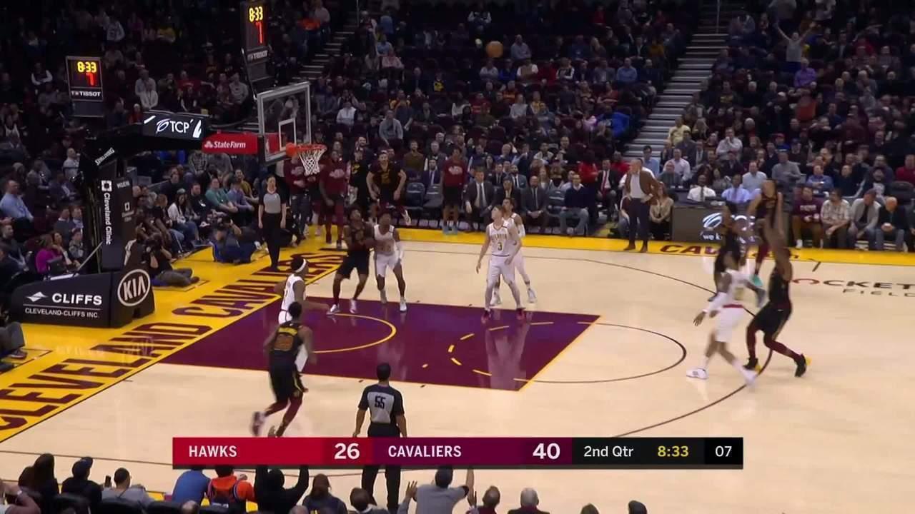 Melhores momentos: Cleveland Cavaliers 127 x 105 Atlanta Hawks, pela NBA