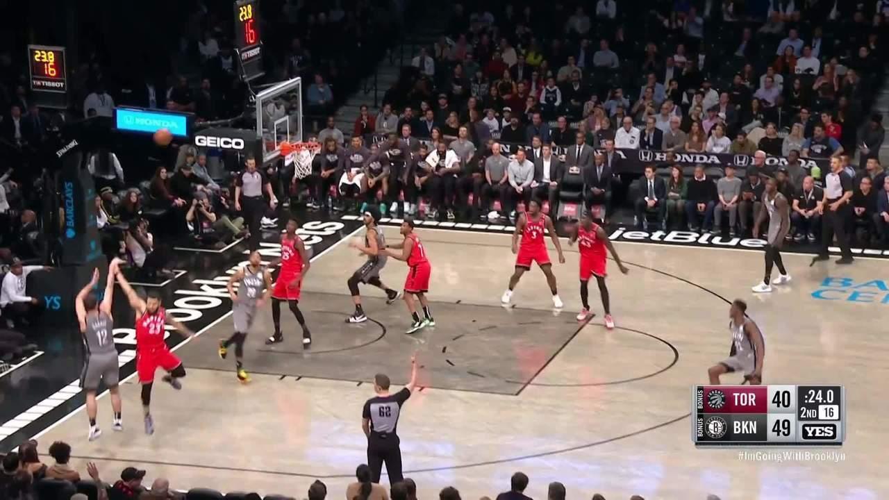 Melhores momentos: Brooklyn Nets 101 x 91 Toronto Raptors, pela NBA