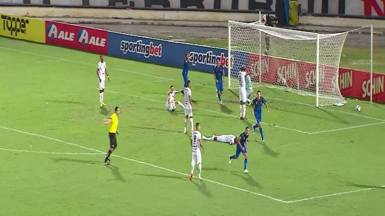 Melhores momentos de Santa Cruz 1 x 0 ABC, pela Copa do Nordeste