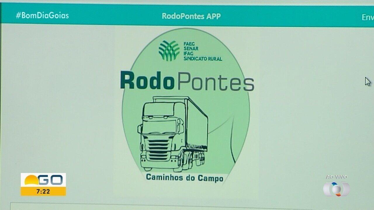Faeg lança plataforma para compartilhar situação de pontes e estradas em Goiás