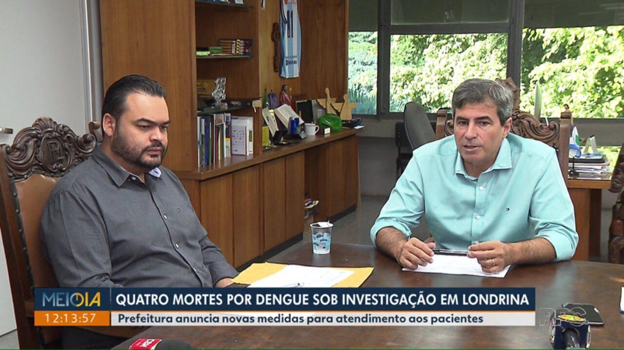 Prefeitura anuncia novas medidas para atendimento aos pacientes com suspeita de dengue
