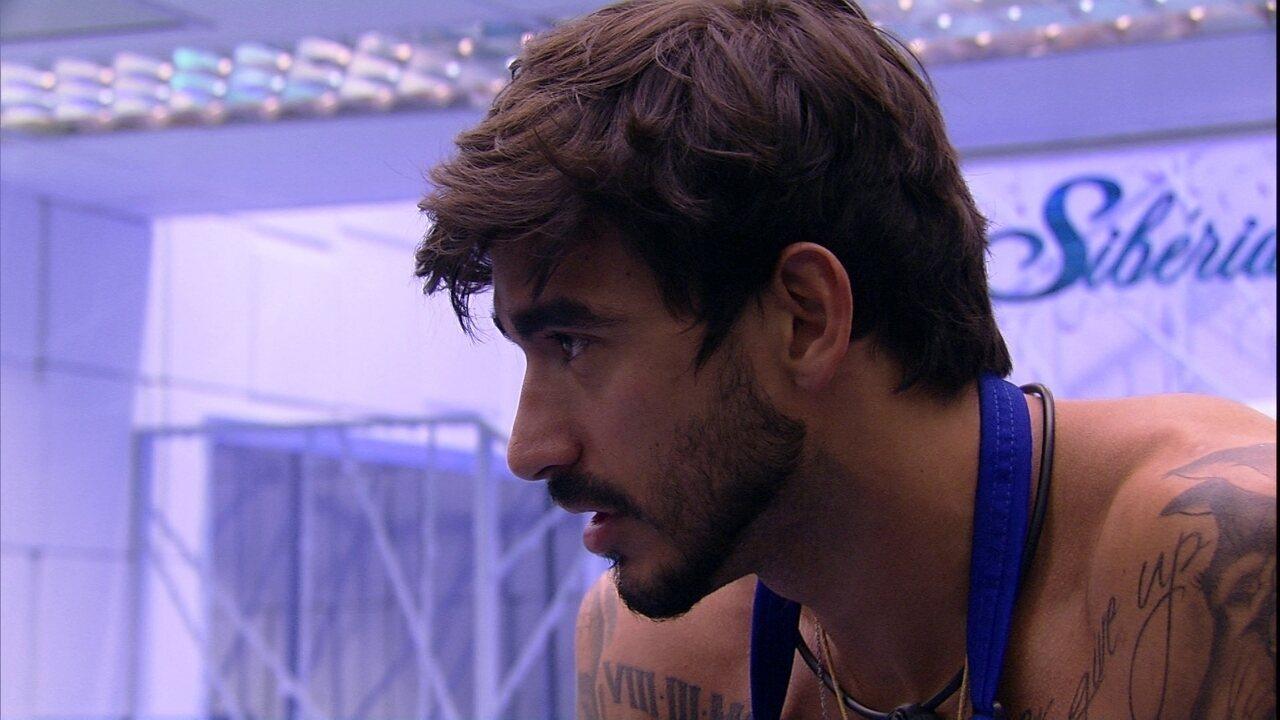 Guilherme para Gabi: 'Você é a pessoa que eu quero comigo até o final'