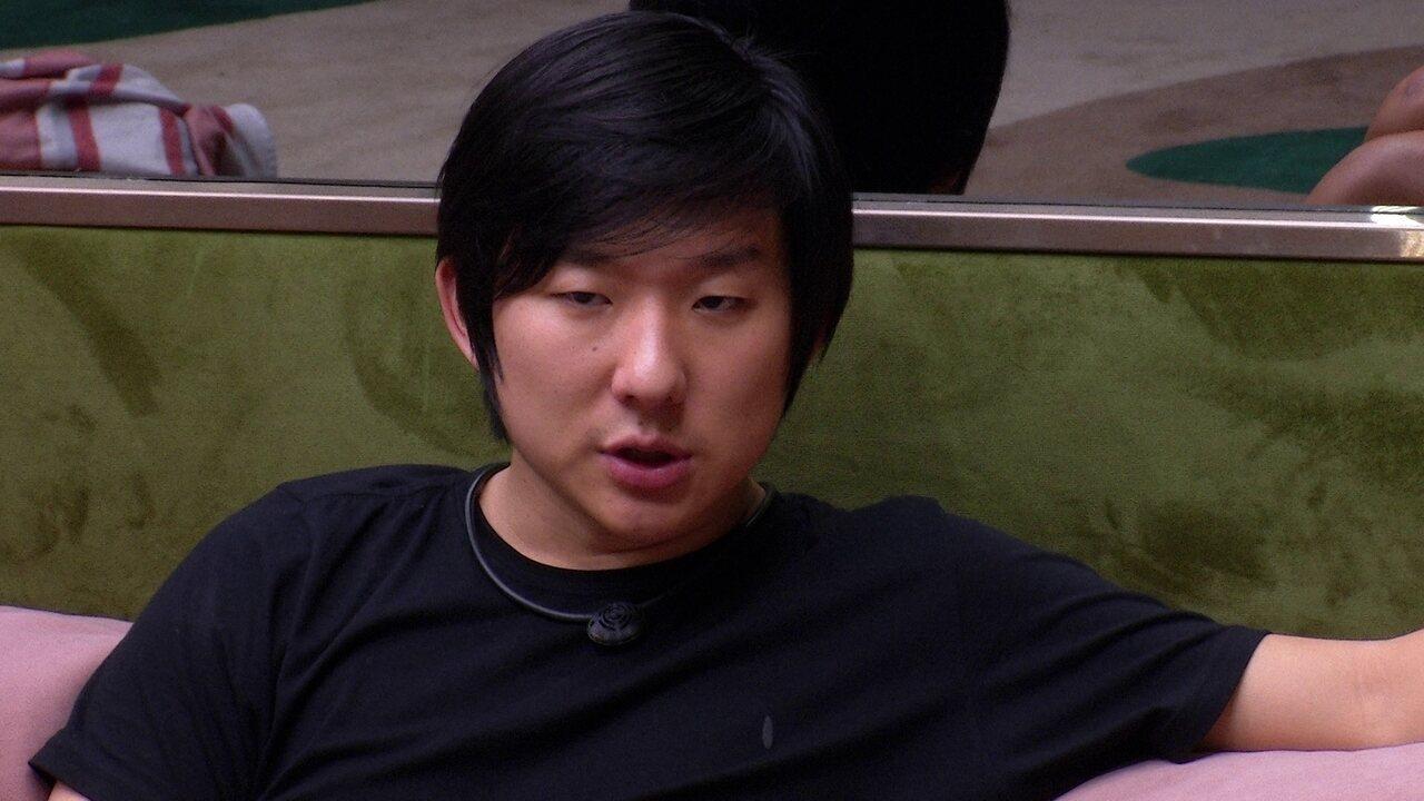 Pyong diz para Gizelly que vai conversar com Babu: 'Ele mudou de lado'