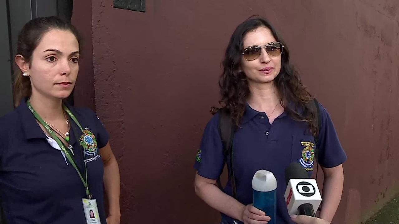 Fiscais do Ministério da Agricultura fazem nova vistoria na fábrica da Backer em BH