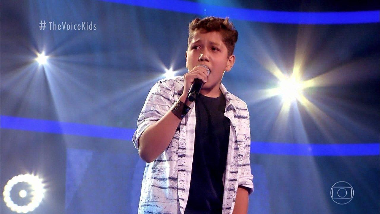 Yisrael Fernando canta 'When a Man Loves a Woman' nas Audições às Cegas