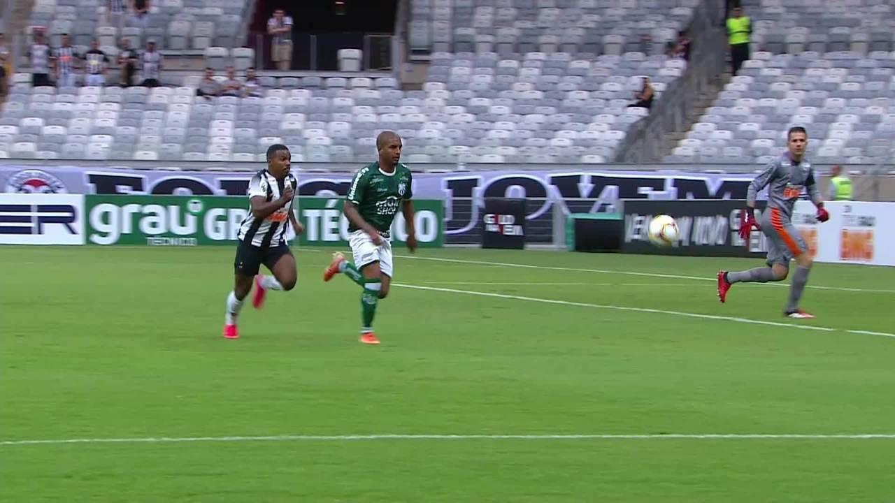 Gols de Atlético-MG 1 x 2 Caldense pela 6ª rodada do Campeonato Mineiro