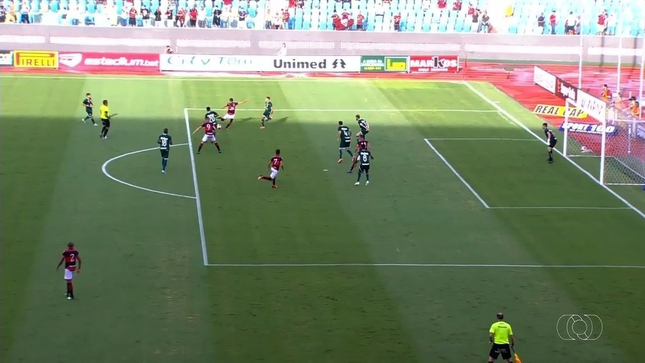 Os gols de Atlético-GO 3 x 0 Goiás pela 6ª rodada do Campeonato Goiano