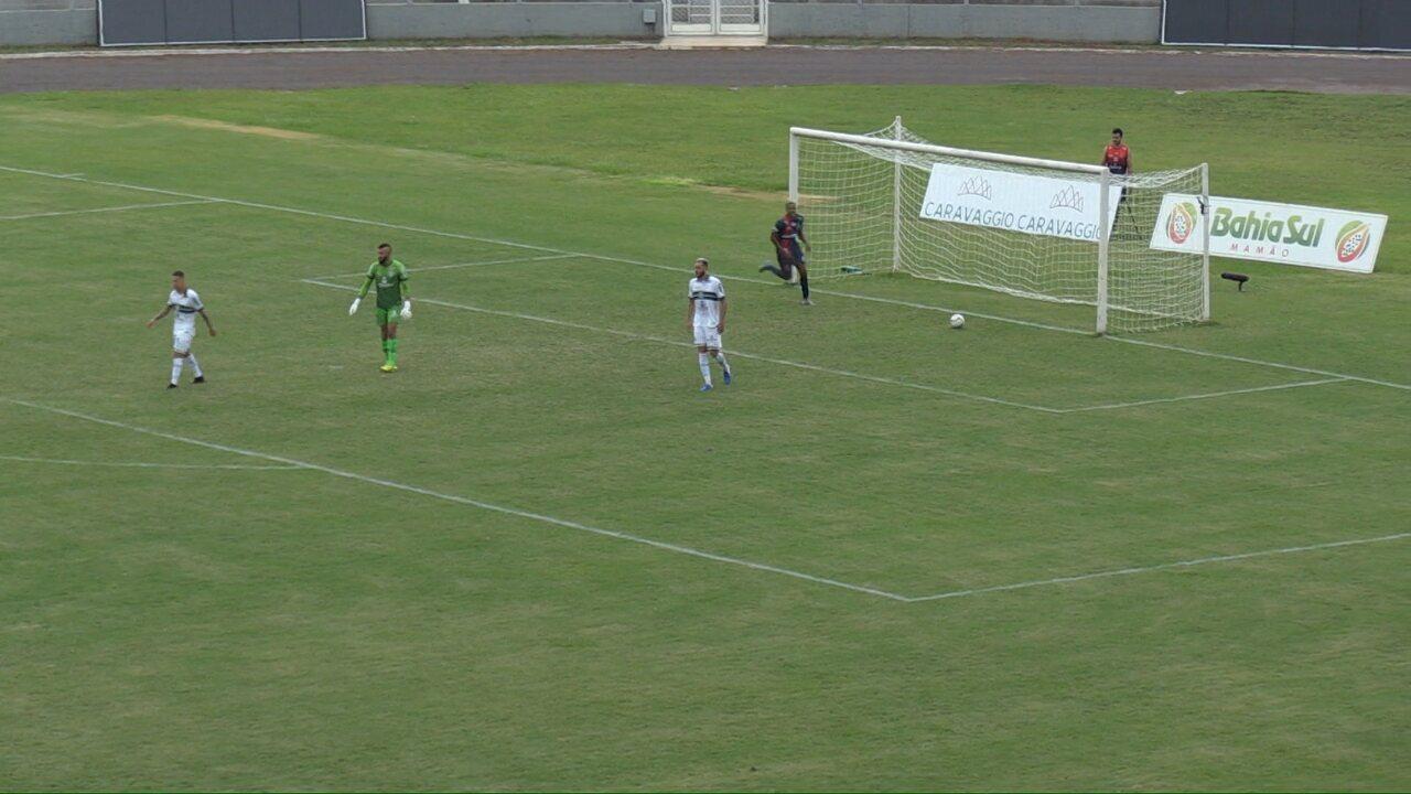 Veja os gols de Cascavel CR 3x2 Coritiba, pela sétima rodada do Paranaense