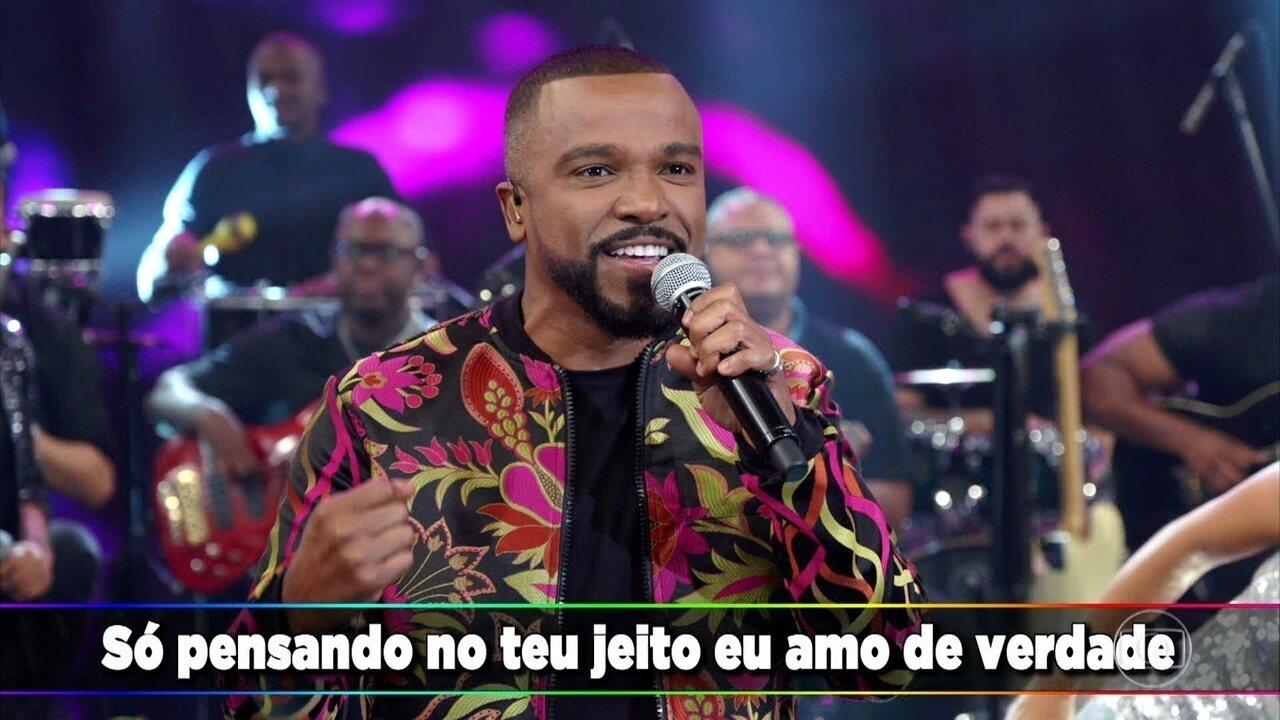 Alexandre Pires canta 'Depois do Prazer'