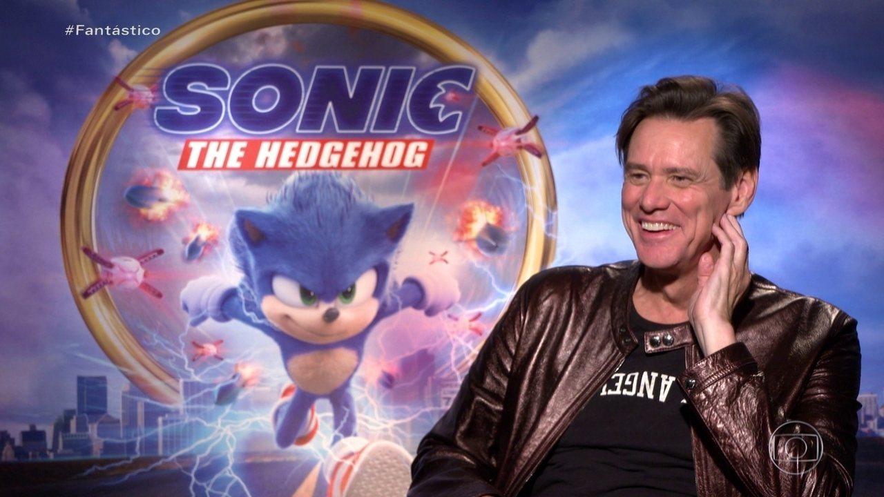 'Personagens sempre têm algo que se encaixa em mim', diz Jim Carrey sobre papel em 'Sonic
