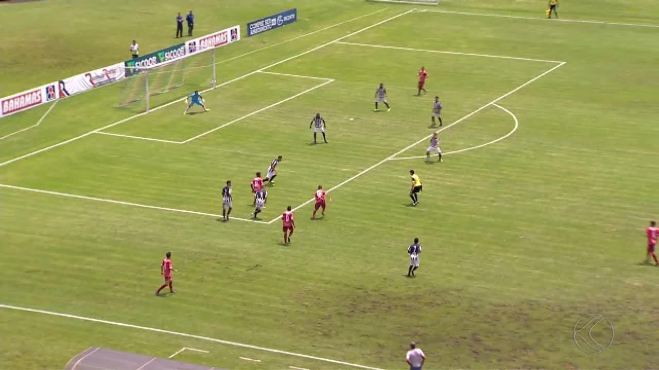 Tupi sofre gol nos acréscimos e perde para Guarani-MG em Juiz de Fora