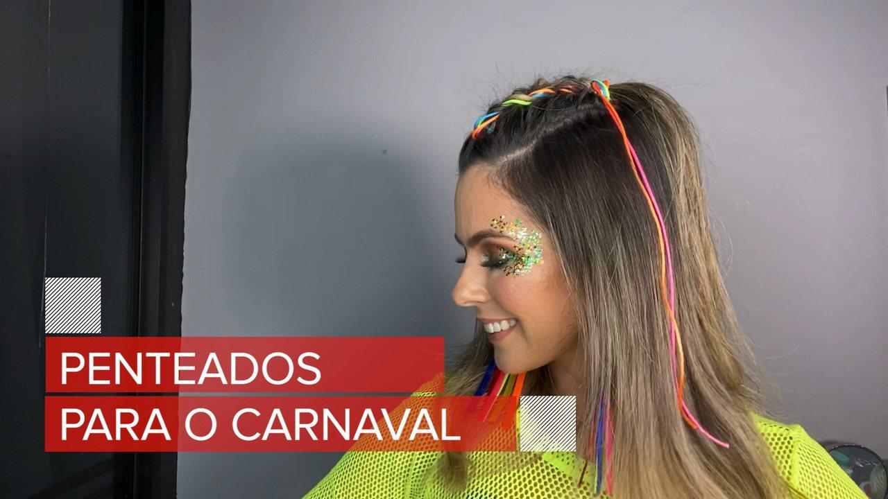 Renata Uchôa dá dicas de penteados com tranças para curtir o carnaval