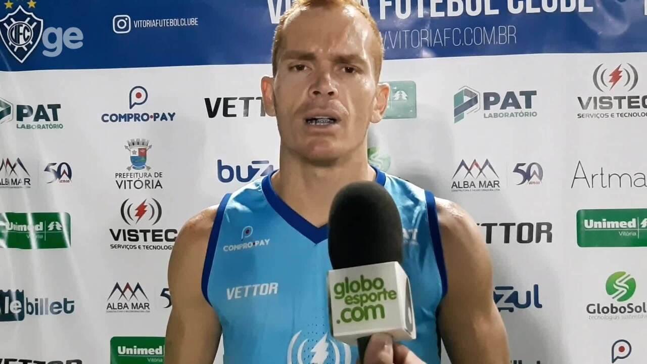 Toni Galego fala do jogo decisivo do Vitória-ES contra o Figueirense, pela Copa do Brasil