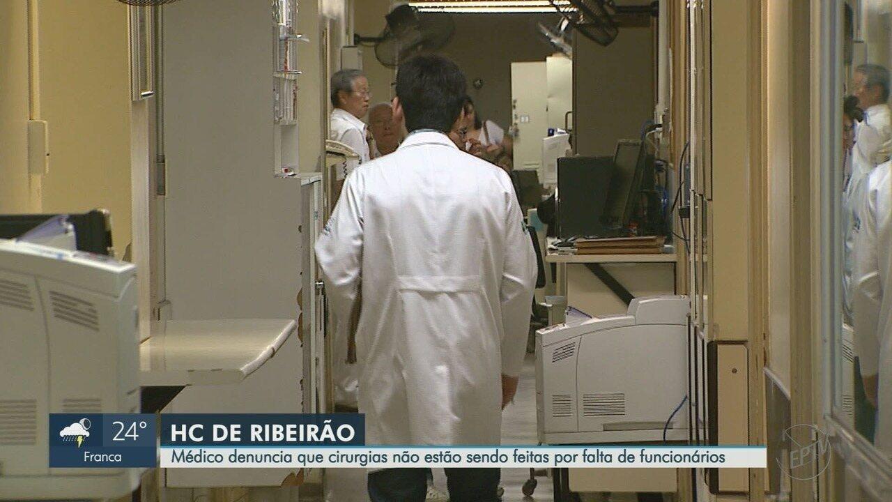 Hospital das Clínicas de Ribeirão Preto tem mais de 100 leitos fechados