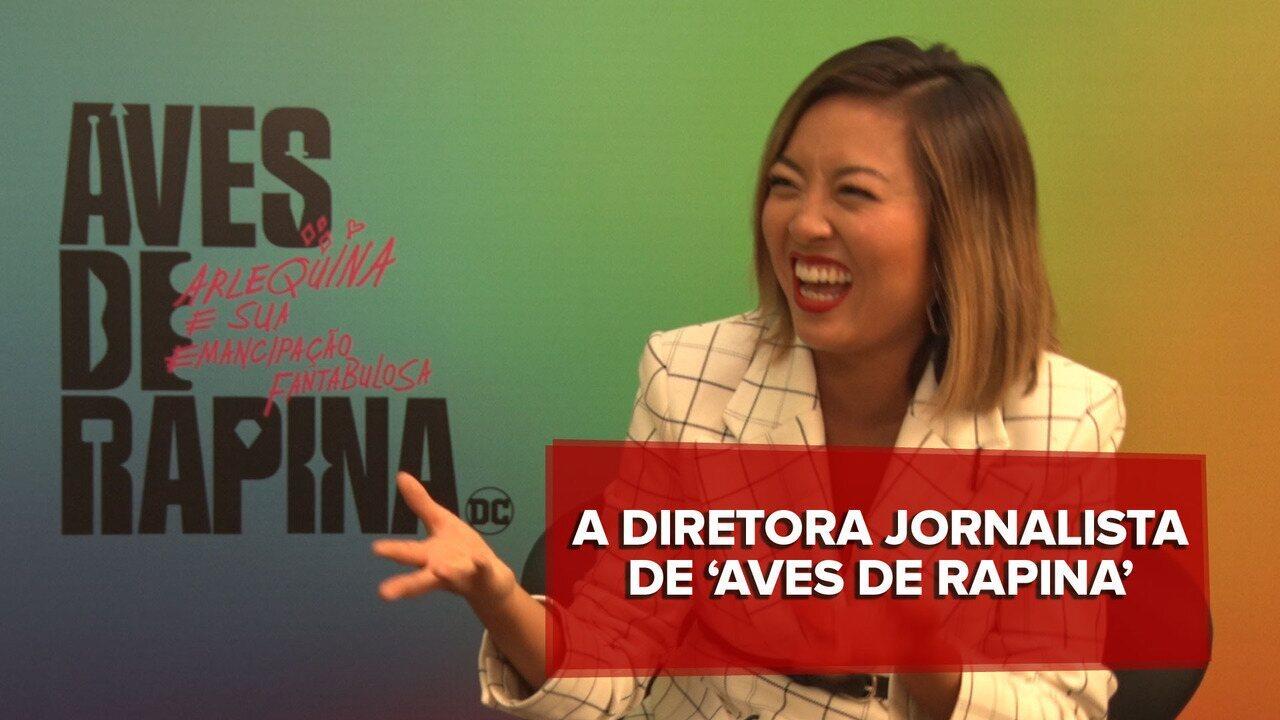 Cathy Yan fala sobre experiência como jornalista e 'Aves de Rapina'