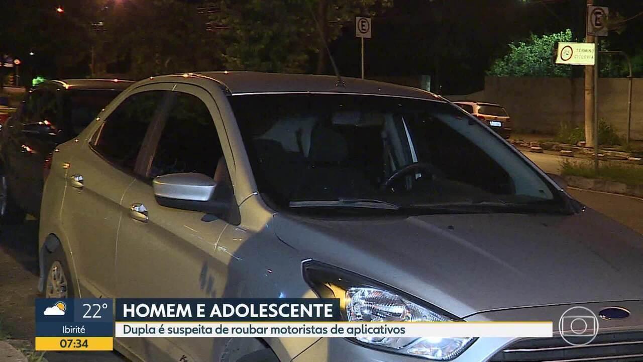 Homem é preso e adolescente é apreendida por suspeita de assaltar motoristas em BH