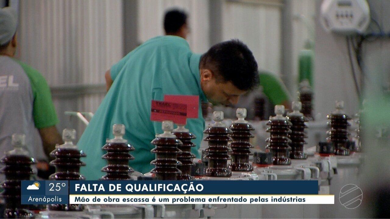 Mão de obra escassa é um problema enfrentado pelas indústrias de MT