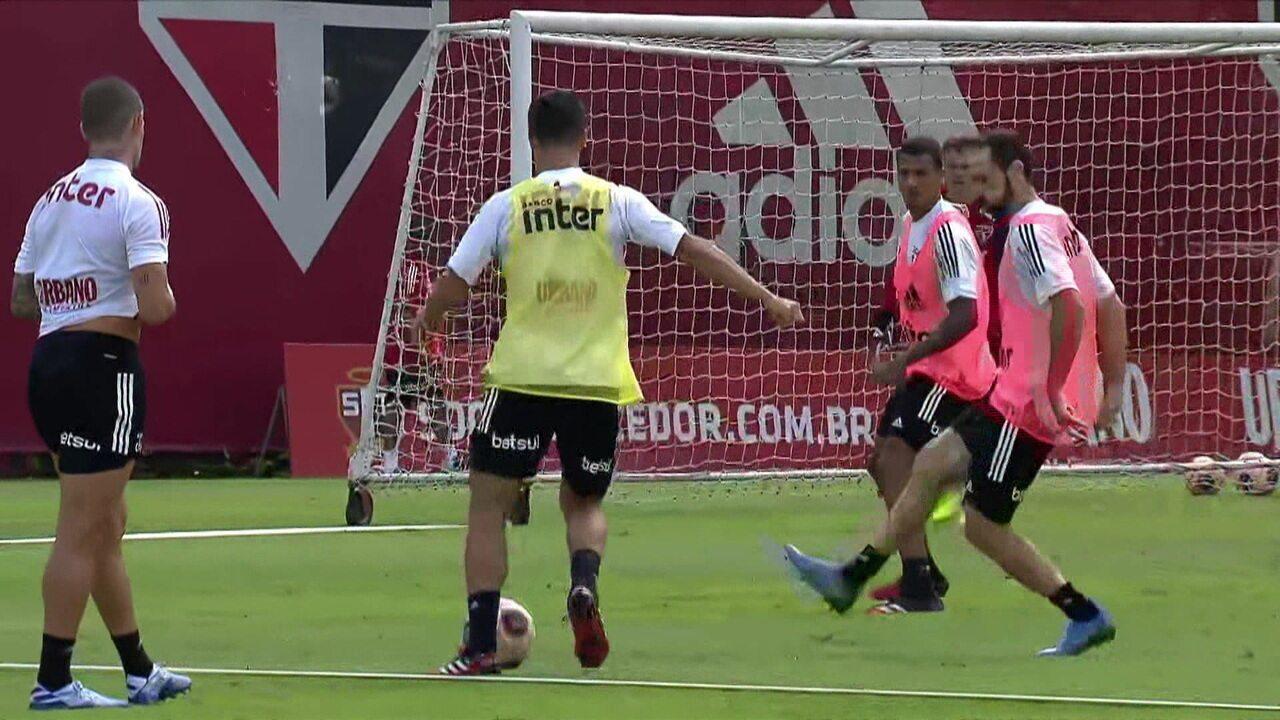 André Hernan traz mais informações sobre o treino do São Paulo