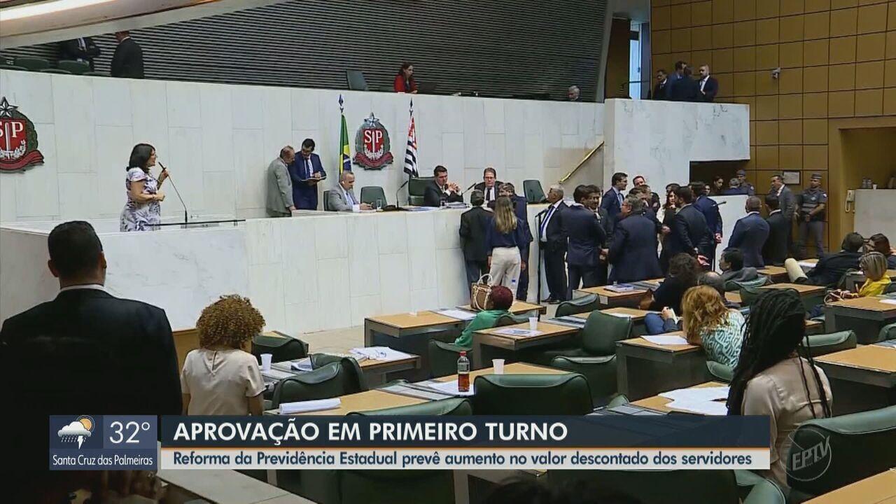 Deputados estaduais aprovam no 1º turno o projeto da Reforma da Previdência do Estado