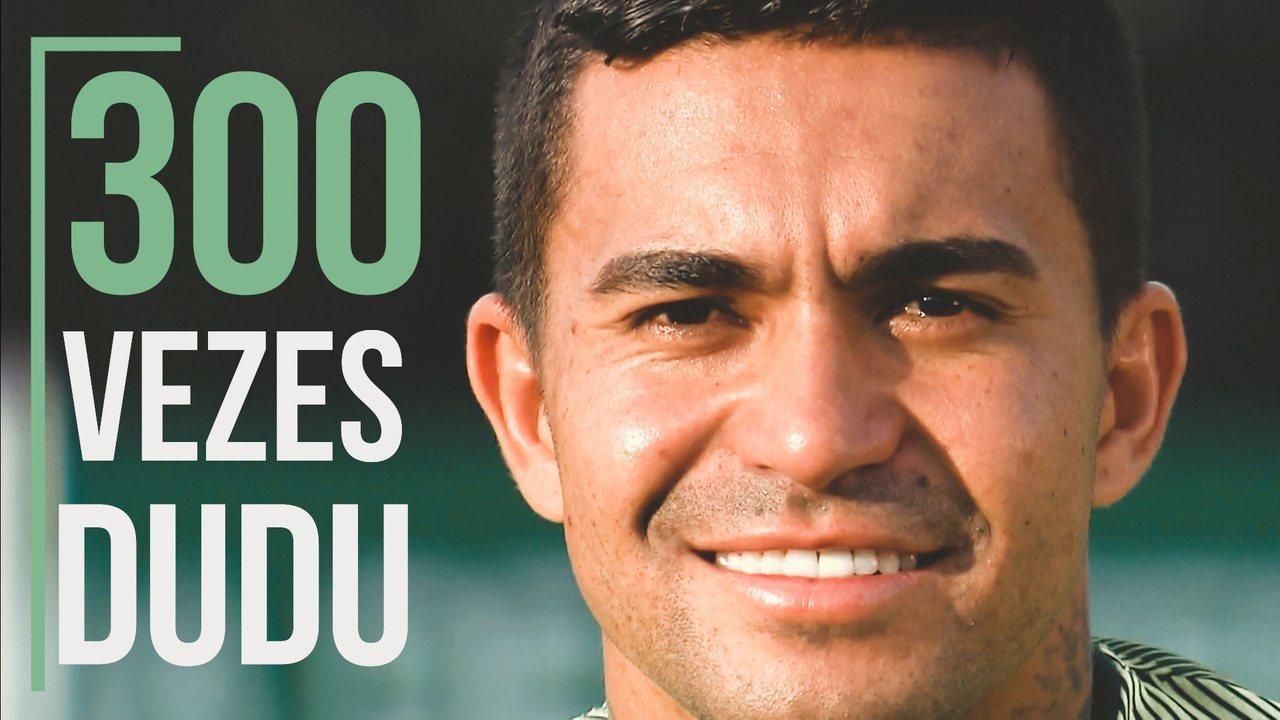 300 vezes Dudu: Atacante se emociona ao falar da relação com o Palmeiras