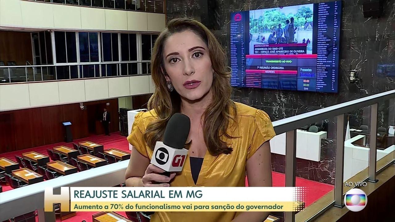 Decisão de dar aumento a 70% do funcionalismo de MG está nas mãos do governador
