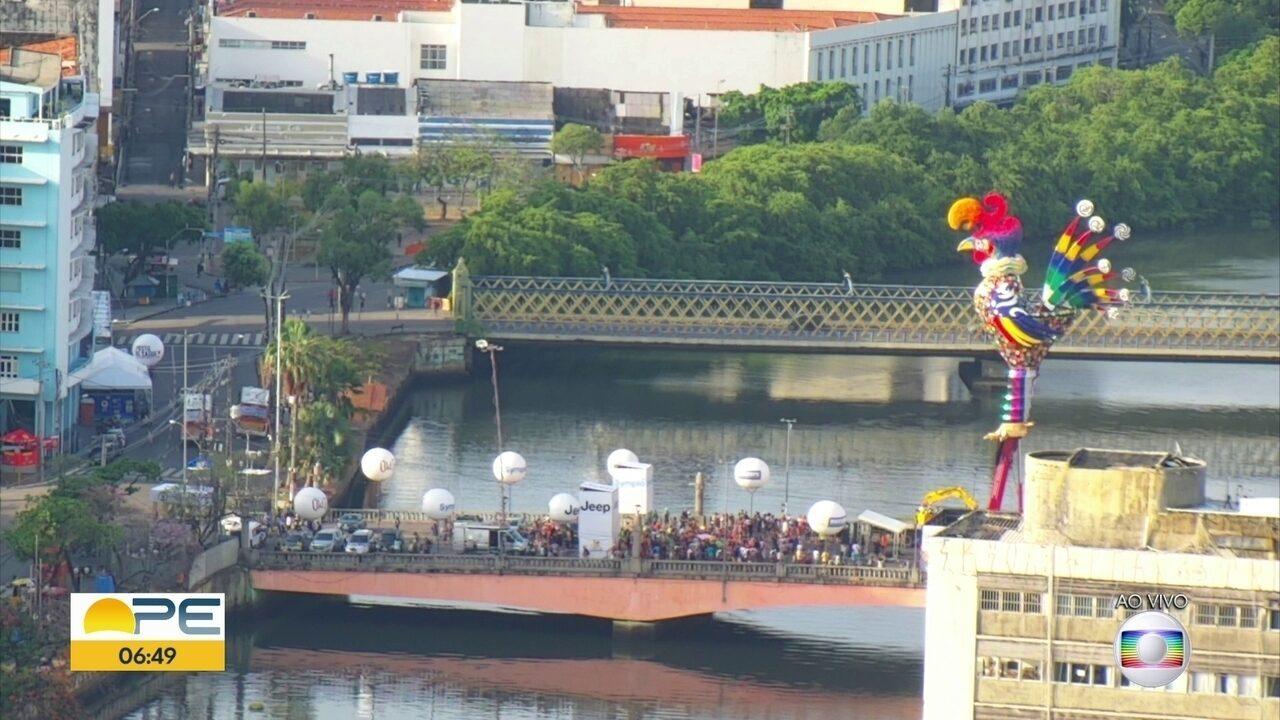 Mais de 4,5 mil policiais fazem segurança do carnaval no Recife