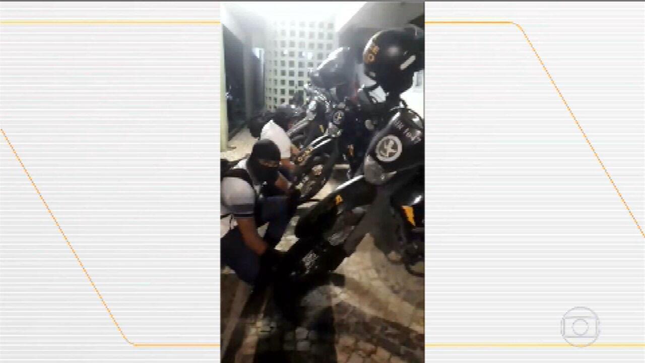 Homens encapuzados invadem batalhão em Sobral, no Norte do Ceará