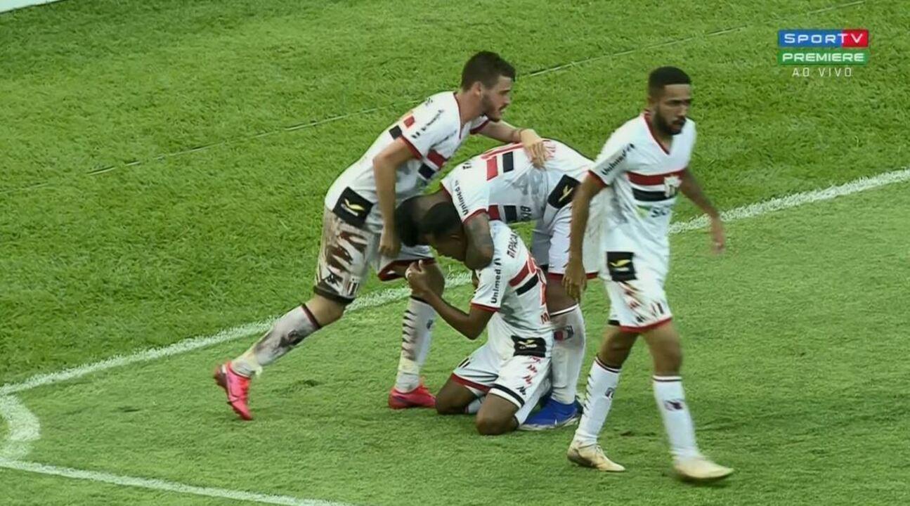 Os gols de Botafogo-SP 2 x 1 Inter de Limeira , pela 7ª rodada do Campeonato Paulista