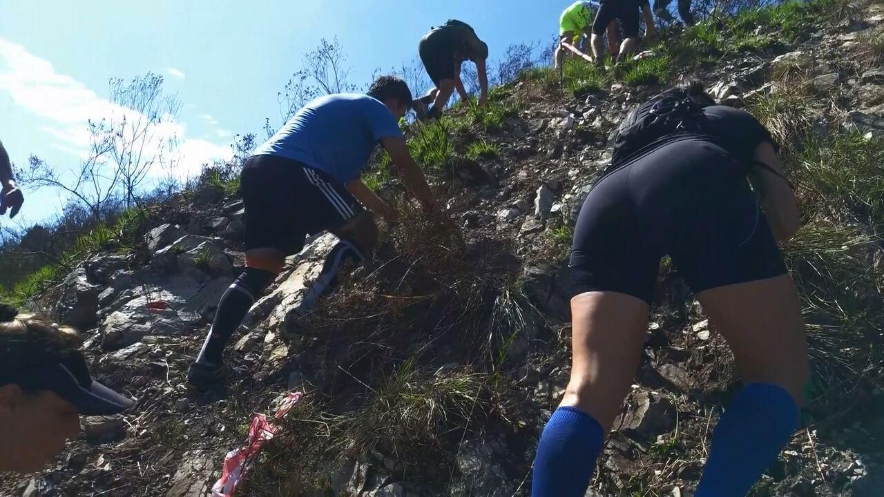 VEJA O VÍDEO: Etapa inicial da Naventura desafia corredores em uma escalada ao Endoença