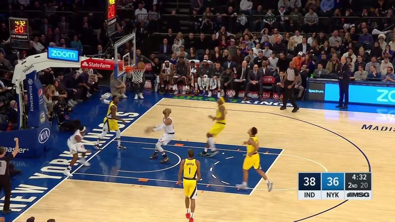 Melhores momentos: New York Knicks 98 x 106 Indiana Pacers pela NBA
