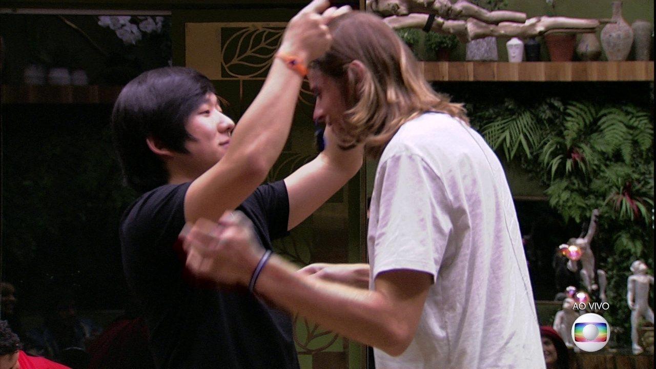 Anjo Pyong dá imunidade a Daniel