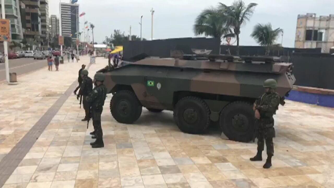 Moro diz que 'não há situação de absoluta desordem nas ruas' do Ceará