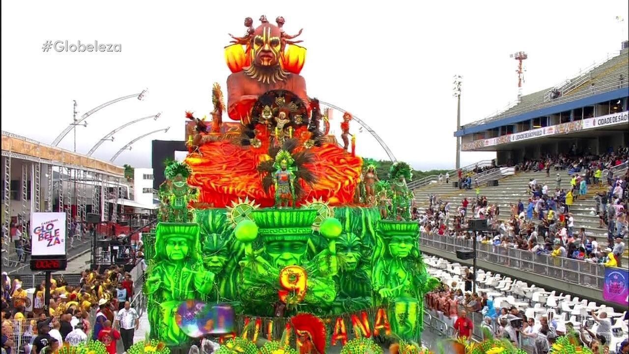 Compacto do desfile da X-9 Paulistana