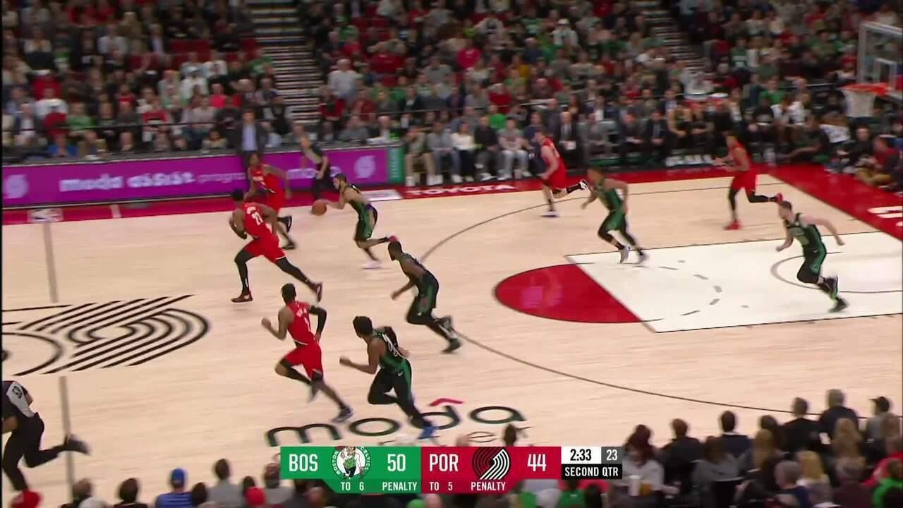 Melhores Momentos de Portland Trail Blazers 106 x 118 Boston Celtics pela NBA