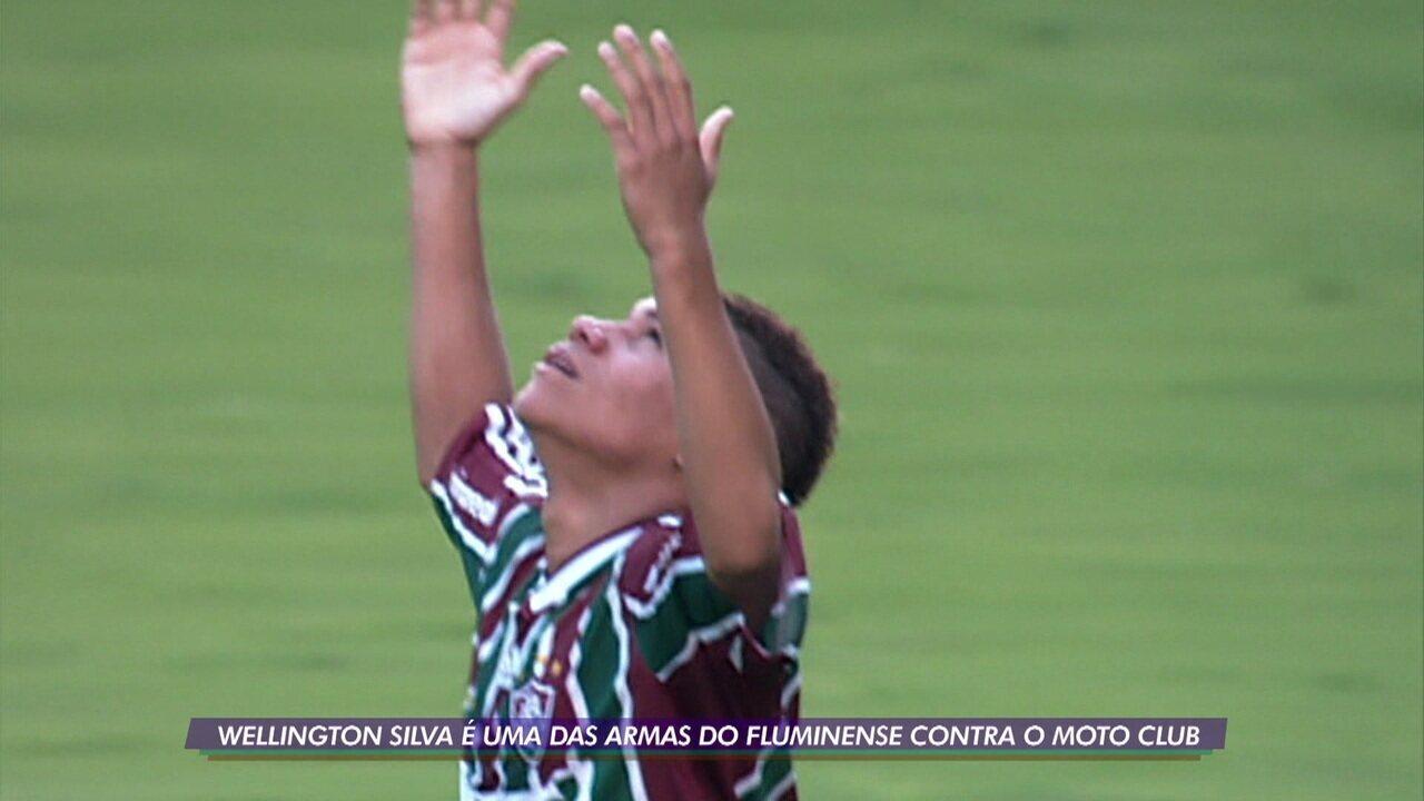 Wellington Silva faz balanço da carreira dez anos após primeiro gol como profissional no Fluminense