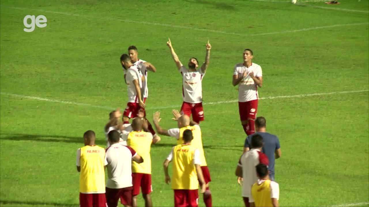 Os gols de River-PI 1 x 1 América-RN pela segunda fase da Copa do Brasil
