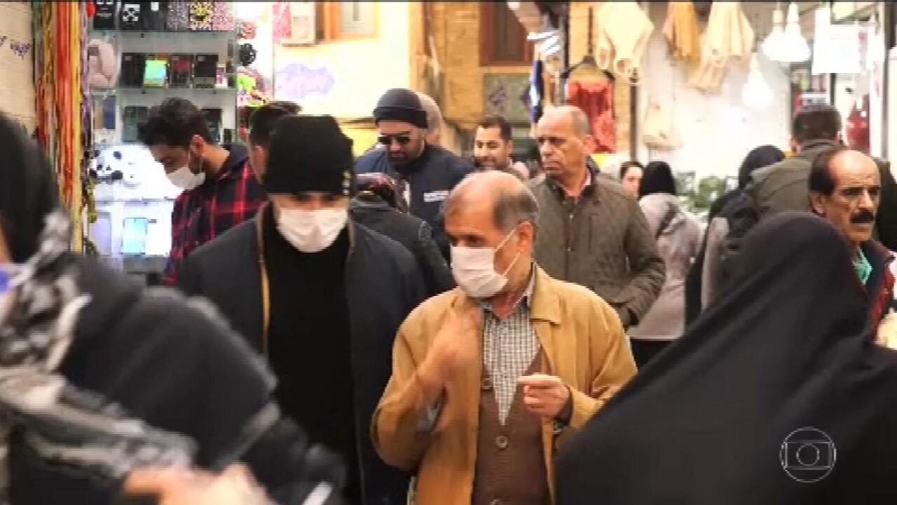 Covid-19: Irã anuncia salto no número de casos para 245 infectados