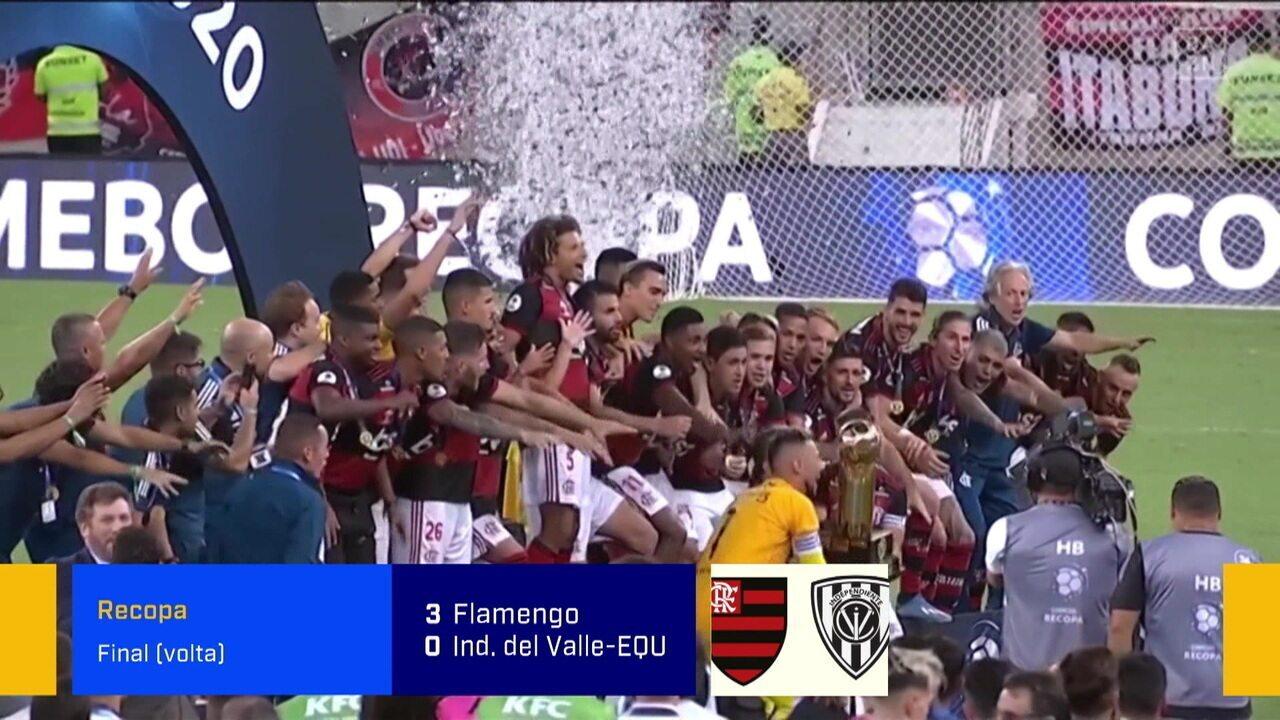 """""""É um começo de ano arrebatador do Flamengo"""", Barreto sobre a conquista da Recopa Sul-Americana:"""