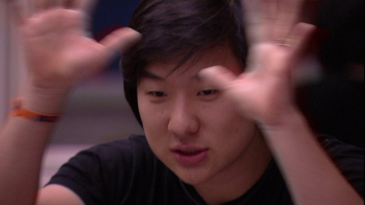 Pyong sugere indicação a Daniel: 'Vou te resumir o melhor cenário para proteger todos'