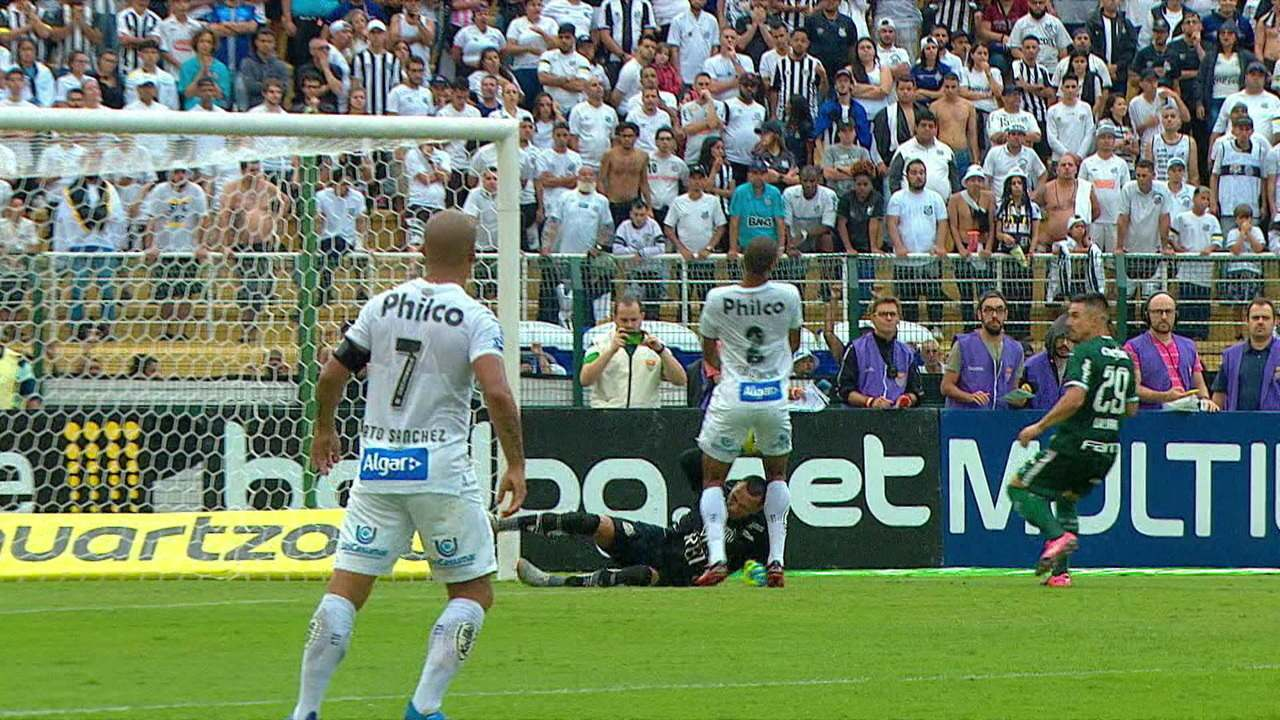 Melhores momentos: Santos 0 x 0 Palmeiras 8ª rodada do Campeonato Paulista 2020