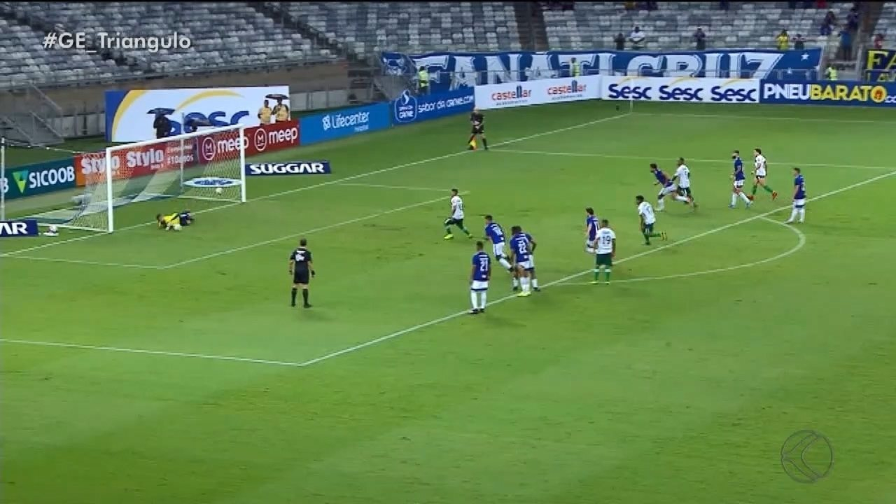 Uberlândia desperdiça pênalti e chance do empate contra o Cruzeiro no Mineirão