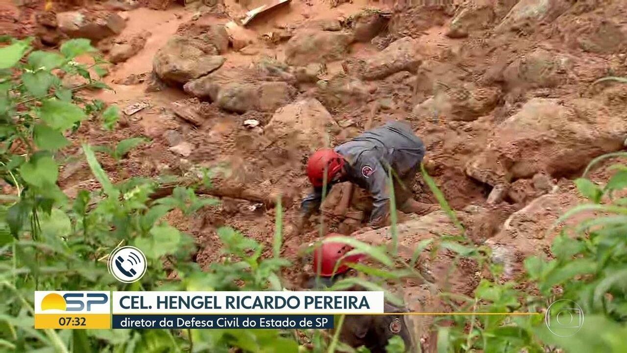 Temporal causa estragos na Baixada Santista