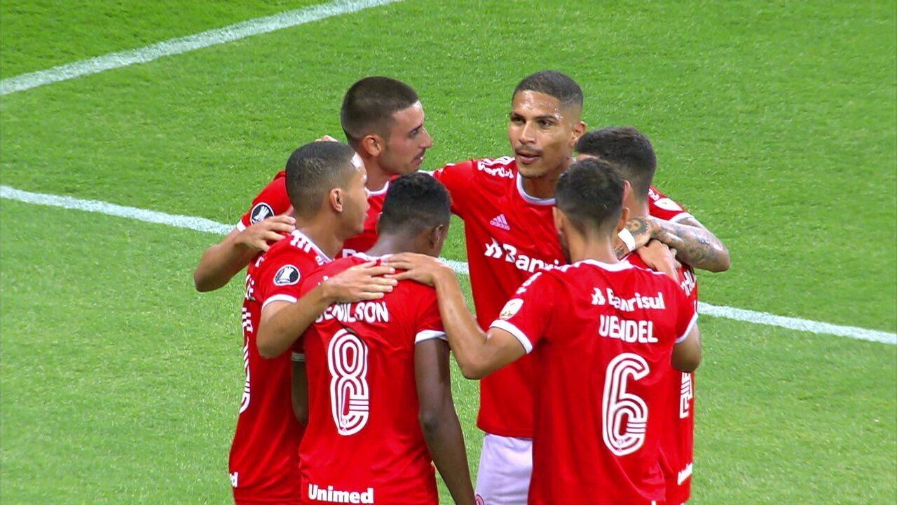 Melhores momentos: Internacional 3 x 0 Universidad Católica pela 1ª rodada da Libertadores