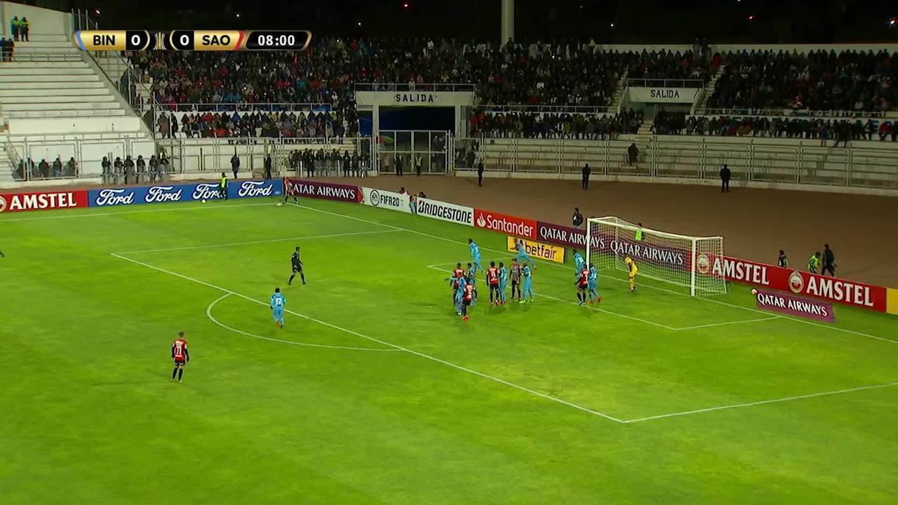 Melhores momentos de Binacional 2 x 1 São Paulo pela Taça Libertadores