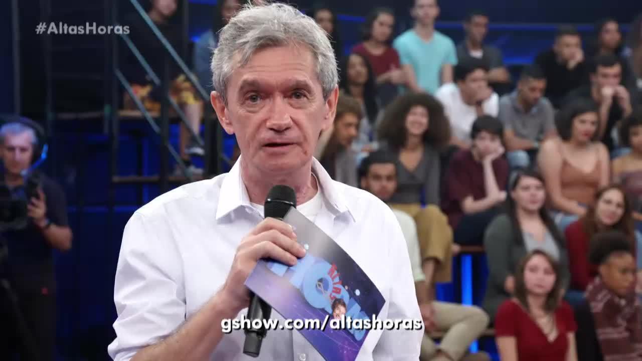 Serginho Groisman está procurando quem já participou da plateia do 'Altas Horas'